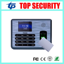 Linux system fingerprint and 125KHZ RFID card reader time attendance TX628 employee biometric fingerprint time clock