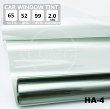 1.52x30M 5FTx98FT VLT65% IR52% UV Rejection 99% Car Window Tint Film Roll High Quality UV Rejection Solar Film