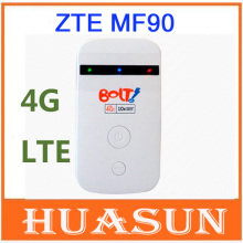 original unlocked ZTE MF90 100M 3G 4G LTE mobile hotspot wifi router modem free shipping(China)