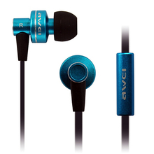 MOONBIFFY Genunie AWEI ES-900M Super Bass Noise Isolating In Ear Earphone For MP3 Player MP4 Earpods