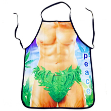 Creative BBQ Party Polyester Funny Print Apron Kitchen Cooking Sleeveless Adjustable Sexy Apron Lovely Rude Cheeky Pinafore