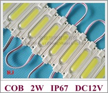 injection with lens COB LED module waterproof LED back light backlight for sign channel letter DC12V 2W IP67 CE ROHS