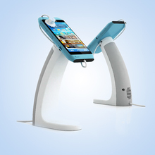 mobile phone alarm display stand alarm charge lock Samsung Huawei cellphone security stent holder