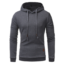 Autumn Men Hoodie Sweatshirt Plaid Hooded Sweatshirt Pullovers Casual Long Sleeve Hoodie High Quality Brand Men's Clothing Hoody