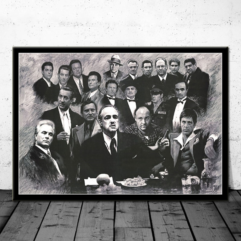 GOODFELLAS MOVIE POSTER CLASSIC PRINT MOVIE GANGSTER MOB ART WALL A4