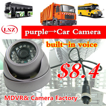 3 inches of purple metal, conch, hemisphere, car camera, bus, AHD new high-definition probe, Sony authentic source, CCTV factory(China)