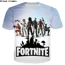 Buy PLstar Cosmos Fashion Men/Women T shirts 2018 new design t-shirt Top games Fortnite 3d Print summer Casual Cool t shirt tops for $9.48 in AliExpress store