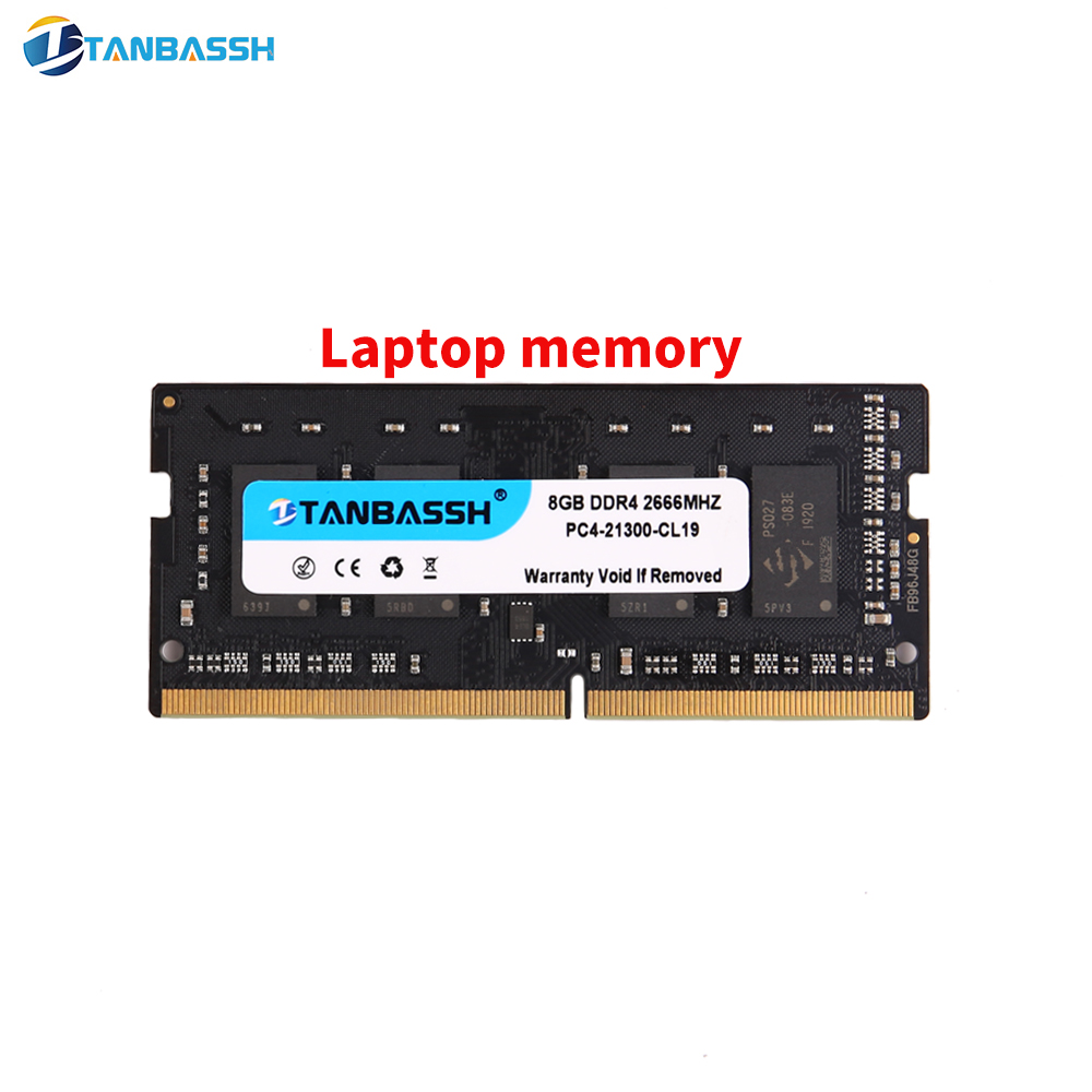 Tanbassh ddr4 4GB 8GB 2400MHz 16GB 2666MHZ ram sodimm laptop memory support memoria ddr4 notebook Lifetime Warranty