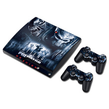 Game Accessories Skin Sticker For PS3 Slim Vinyl Skin Sticker Protector for PlayStation 3 Slim Console and Controller Skin Decal