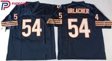 Embroidered Logo Brian Urlacher 54 blue white throwback high school FOOTBALL JERSEY for fans gift cheap 1107-10(China)