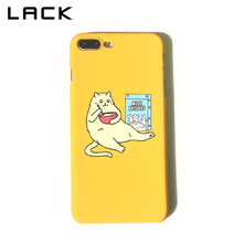 Buy LACK Funny Cartoon Cat Phone Case iphone 7 Plus Case Fashion ultra thin Hard PC Back Cover Cases iphone 7 Case Capa for $1.64 in AliExpress store