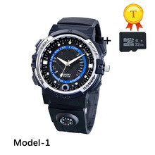 2017 original quality Wifi Car Record Camera smart Watch support TF card IR Night Vision Video record Voice Recording(China)