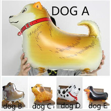 Stable quality 1piece/lot 25inch walking dog balloons animal pet helium ballon for children birthday supplies Kids classic Toys(China)