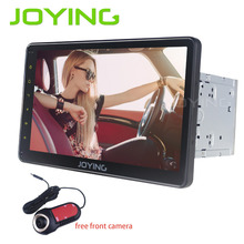 Joying Latest 2GB Android 6.0 double 2din 10.1 inch Car Radio Audio Stereo tape recorder screen with free 1080P front camera DVR