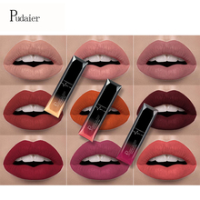 21 Colors Pudaier Matte & Metalic Liquid Lipstick Lips Make up Nude Matt Lipstick Waterproof Lip Gloss Cosmetics Makeup Lipgloss