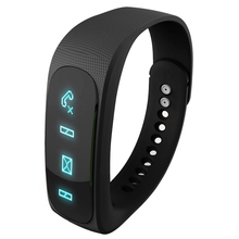 E02 Bluetooth 4.0 Smart Sports Bracelet , Camera Remote / Video Remote / Sport Tracking / Sleep Tracking / Watch Function, etc