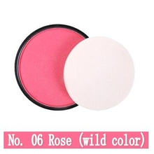 NANI monochrome *No.06* blush rouge powder orange pink pearl matte blush pink manufacturers wholesale 8 colors 1Pcs/lot(China)