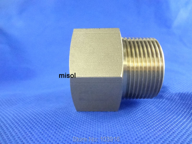 Adaptor fitting 1.25BSP (DN32) male to 1.25 NPT (DN32) female, Brass<br><br>Aliexpress