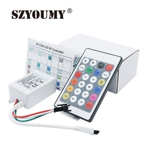 SZYOUMY 24 Key IR Controller Colorful Remote With DC For DC 5V Pixels Dream Color WS2811 WS2812B 3535 LED Flexible Strip Tape
