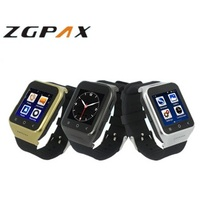 "Mesuvida ZGPAX S8 Bluetooth Smart Watch Phone 1.54"" GPS MTK6572 Dual Core Android SmartwatchSIM 3G WiFi 512MB 4GB Wristwatch"