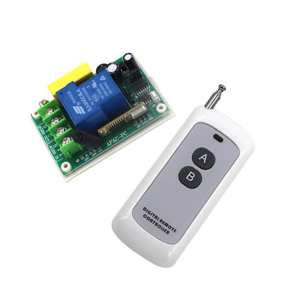 Free Shipping AC 220V 30A 1CH Wireless RF Remote Control Switch Transmitter+ Receiver SKU: 5232<br><br>Aliexpress