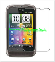 2x Clear Glossy LCD Screen Protector Guard Cover Film Shield For HTC Wildfire S G13 A510e PG76110(China)