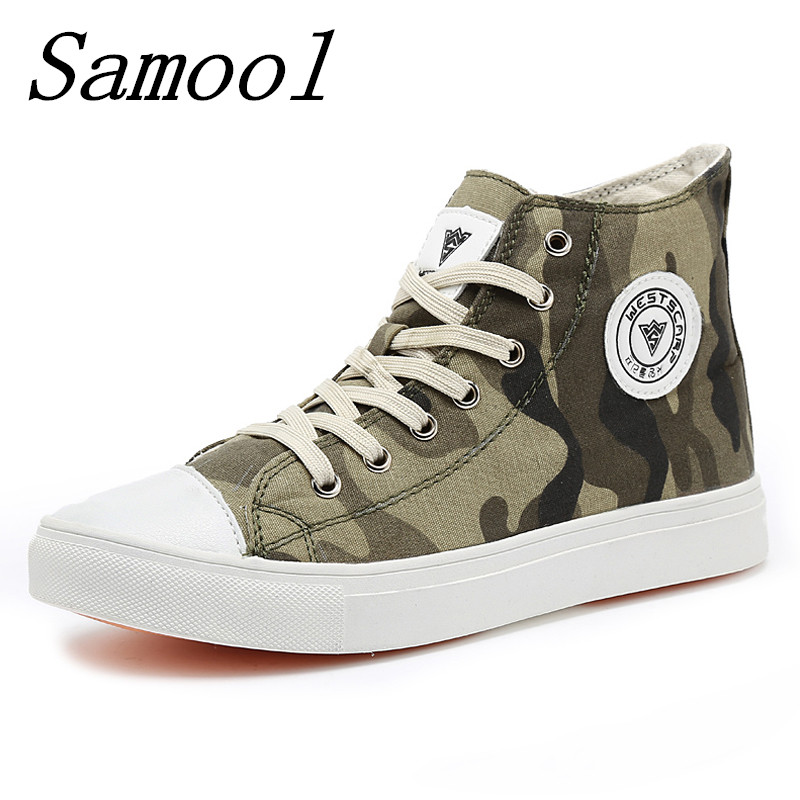 Spring Autumn Breathable Canvas Camouflage Shoes Women Lovers Shoes Fashion Comfortable Lace up Brand Shoes Zapatillas jx2<br>