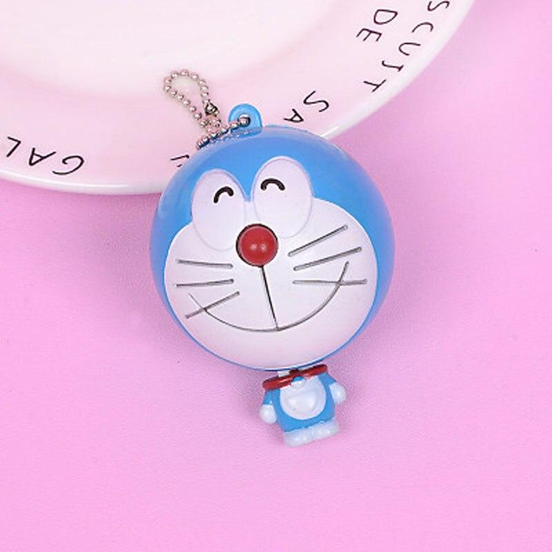 Nouveau Mignon Cartoon Chat Portable automatique Ruban à mesurer 100 cm rétractable règle