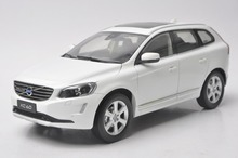 1:18 Diecast Model for Volvo XC XC60 2016 White SUV Alloy Toy Car Collection