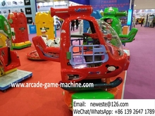 Coin Operated Children Game Machine Kiddie Rides Airplane Helicopter For Malls