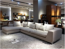 Living room sets contracited fashion sofa furniture with sectional sofa MB750(China)