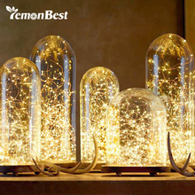 LemonBest 10m/33ft RGB Solar Lamp 100-LED Copper Wire String Light 2 Modes Auto On for Bottle Fairy Lights wedding decoration(China)