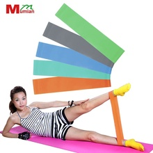 Yoga Fitness Resistance Band Elastic Latex Belt Loop Pull Strength Training Bodyweight Muscle Tone Elastic Latex Gym Equipment(China)