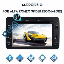 Octa Core CD DVD плеер 2 Din стерео Android 8,0 автомобиля радио для Alfa Romeo паук Alfa Romeo 159 Alfa Romeo Brera Alfa Romeo 159(China)
