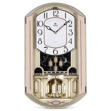 20 Inch Large Wall Clock Silent Vintage Home Decor Light Control Sensing Wall Watches Hourly Chiming Clocks Horloge Murale Klok