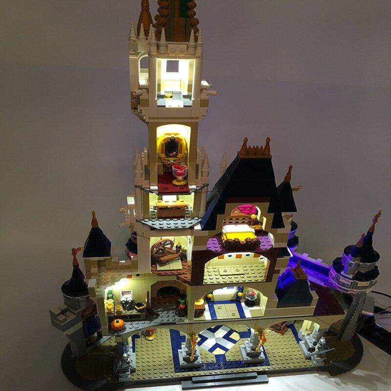 Led Light Set For Lego Building City Street 71040 For 16008 Cinderella Princess Castle Blocks Toys Creator City Street Lighting (4)