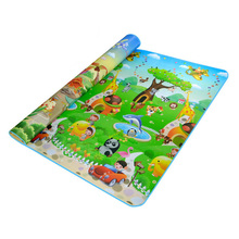 Double Side Waterproof Baby Toddler Soft Crawling Mat Picnic Blanket Play Mat 5 Styles(China)