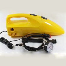 Newest Multifunction Portable Car Vacuum Cleaner Wet and Dry Electric Air Pump For Tire Inflation Compressor For Cars