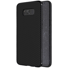 Nillkin synthetic fiber case for samsung galaxy s8 case Carbon Fiber PP Plastic Back Cover Case for samsung s8 s8 plus luxury(China)