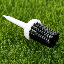 50Pcs/Lot Golf Training Aids 57mm Plastic Bristles Golf Brush Tees Driver Training Bristle Tee Golf Brushes Tee Tool Accessories