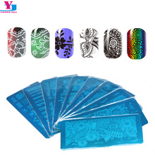 Buy Wholesale 10pcs Beauty Nail Art Stamper Templates Nail Image Stamping Stainless Plates Flower Lace DIY Gel Polish Stamp Manicure for $9.24 in AliExpress store
