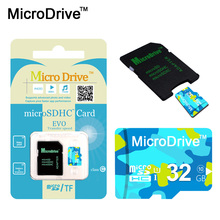 Micro Drive Hotsale Micro SD Card 4GB 8GB 16GB 32GB 64GB TF Card Memoria microsd Memory Card Storage For Smart Phone(China)