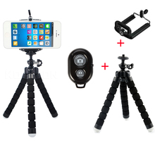 Mini Mobile Cell Smart Phone Camera Tripod Stand Tool for Gopro Hero 4 3 2 SJCAM Original Self-Timer Bluetooth Wireless Remote