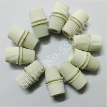 10Pcs Pendant Lamp Cable Strain Relief Wire Clamp Cable Grip Wire Clip Color White(China)