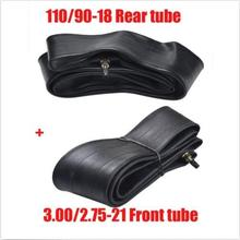 110/90-18 Rear Tube 80/100-21 Front Tube Trail Dirt Pit Bike Motorcycle 200 250c(China)