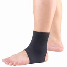 Ankle Protector Sports Ankle Support Elastic Ankle Brace Guard Foot Support Sports Gear Gym Elastic Wrap Pad for Outdoor Sports