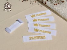 Logo Labels,Sewing Labels,Custom Clothing Labels,Custom kids or Baby Name Labels / Brand Tags,Handmade Tags,Cotton Ribbon Tags(China)