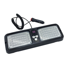 86 LED Car Truck Visor Strobe Panel Light led police Flash warning Emergency Lighting Red Blue Yellow White Color DC12V(China)
