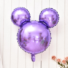 26 inches Mickey head Foil Balloons baby shower Cartoon inflatable helium ballon Children Toys happy birthday Party decoration