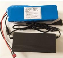 36V 6Ah 10S3P 18650 Rechargeable battery pack ,modified Bicycles,electric vehicle 36V Protection with PCB + 42V 2A Charger(China)